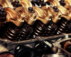 Bronze Engine Post Picture