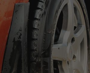 Car Tire Post Picture